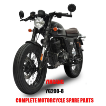 Yingang YG200-8 엔진 부품 바디 키트 Complete Motorcycle Spare Parts Original
