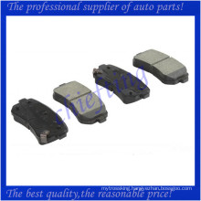 D1157 58302-1HA00 24321 high quality brake pad for kia forte