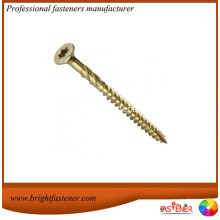 Good Quality for Stainless Steel Wood Screws, Torx Wood Screws, Security Wood Screws Leading Manufacturers in China Yellow Zinc Plated Torx Head Long Wood Screws export to Slovakia (Slovak Republic) Importers