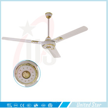56''celling Fan Solar DC Fan Habitación grande Fan de enfriamiento Five Speed ​​Regulator