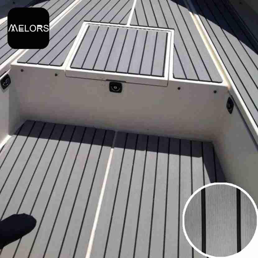 Bootsbelag Matte Faux Teakholz Decking Yacht Blatt Pad