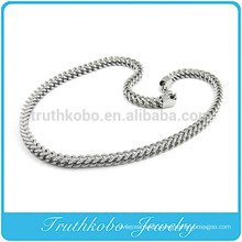TKB-RN0045 Unique Snake Chain Huge heavy Silver Fashion Jewelry 316L Stainless Steel necklace