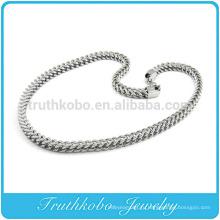 Сеть ТКБ-RN0045 уникальный змея огромный тяжелый серебро ювелирные изделия ожерелье из нержавеющей стали 316L