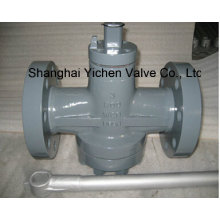 Handle Operation Lubricated Plug Valve