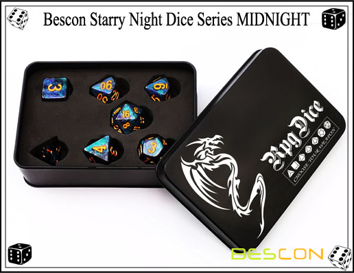 Starry Night Dice-6