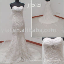 JJ2023 Dentelle Mermaid Chine robes de mariée en ligne vente en ligne