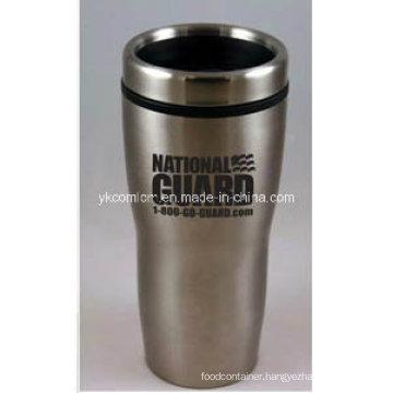 450ml Double Wall Curvy Coffee Mug