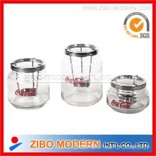 Pot de verre en bougie (GA8049)