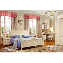 Hochwertiges klassisches hölzernes Möbel-Schlafzimmer-Set (HF-MG606)
