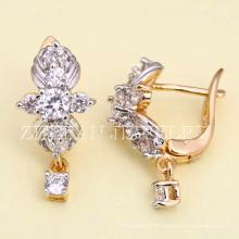 mayoristas pendientes de mujer joyas de oro brasileño brillante de la manera ¡Necesite más información por favor contáctenos! La joyería chapada en rodio es su buena elección