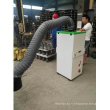 Machine de nettoyage de filtre à air d'extracteur de vapeur de soudure