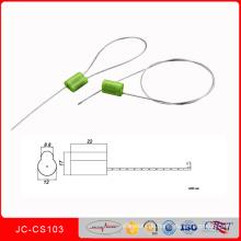 Jccs-301customizable Stahlsicherheits-Siegel-justierbare Verschluss-Dichtung für Sicherheit