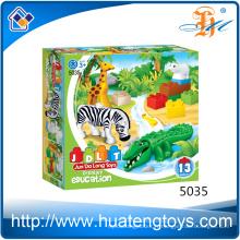 Prix de gros Creative Animal Baby Building Blocks Toys