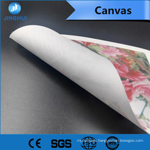 promotion Stretched 320gsm digital canvas paper for Pigment Inks Printing
