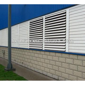 Aluminium waterproof ventilation aluminium waterproof ventilation blind