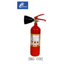 Extintor de dióxido de carbono CO2 de 2kg