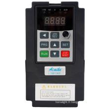 Convertisseur de fréquence monophasé 220V 0.75kw