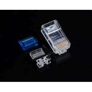 Cat7 RJ45 Plug with Blue Tool