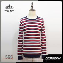 Красный / белый вязаная Одежда для мужчин