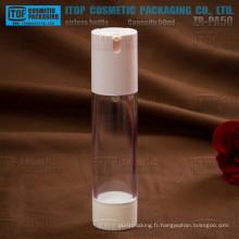 ZB-PA50 50ml spécial recommandé prix concurrentiel et le flacon de pompe airless san fiable de haute qualité clair bon 50ml
