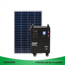 38Ah постоянного тока 300W с решетки 2kw портативный солнечной энергии системы