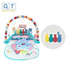 tapis de jeu clavier pour enfants avec jouet ours mignon