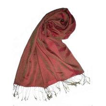 Echarpe pashmina longue longueur en soie