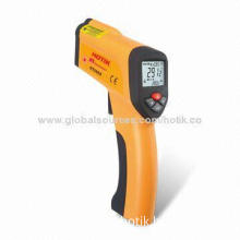 Non Contact High-temperature Infrared Thermometer Gun with Laser Point, -50-1300°C