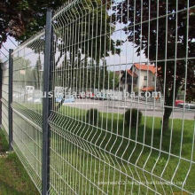 Galvanized road guardrail