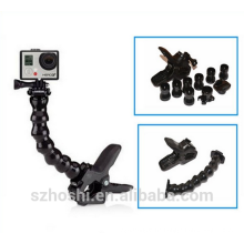 Jaws Flex Clamp Mount for GoPro Accessories or Camera Hero6/5/1/2/3/3+/4 sj4000/5000/6000