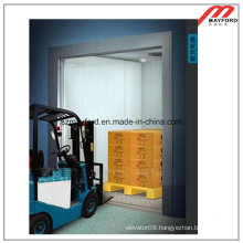 Large Space Freight Elevator with Machine Room