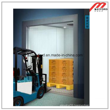 Machine Roomless Freight Elevator for Storeroom