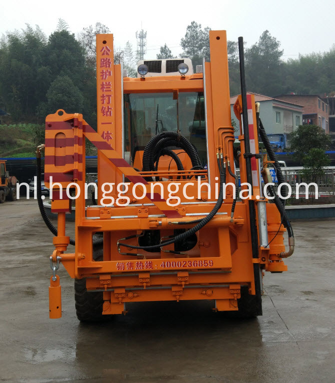 Tractor Pile Driver for Drill Piling