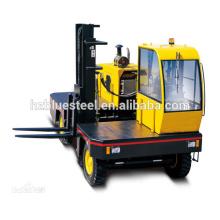 Chariot élévateur à chariot élévateur à chargement manuelle à faible prix, chariot élévateur à moteur diesel pour transport de marchandises longues