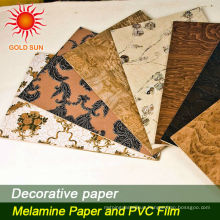 Wood Grain Decorative Paper For Chipboard,HPL,MDF,Flooring