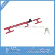 HF-6088c SWL Mejor cerradura roja del volante del coche del club del coche del auto que vende caliente