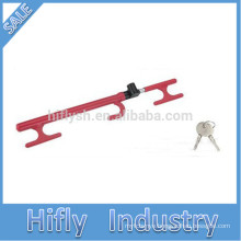 HF-6088c SWL Best Hot Selling Auto Car Car Club Anti Theft Red Steering Wheel Lock