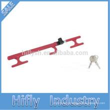 HF-6088c SWL Melhor Venda Quente Auto Carro Carro Clube Anti Roubo Vermelho Volante De Bloqueio