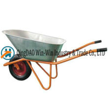 Wheelbarrow Wb8600hr PU Rueda de ruedas