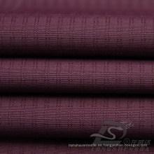 Water & Wind-Resistant Outdoor Sportswear Chaqueta de tela Tejido Doble-Rayado Plaid Jacquard 100% poliéster Pongee tela (E059)