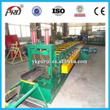 CU Purlin Shape Machine / CU Gutter Máquina de chapa de aço / forma de formação de UC