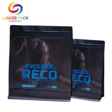 Resealable Foil Laminated Packaging Bag Whey Protein Powder