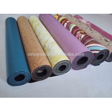 Natürlicher Gummi Yoga Mat Hersteller