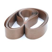 PTFE coated fiberglass sealing machine belt