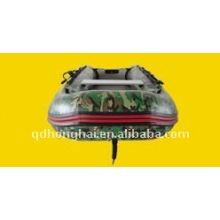 camo color 2.7m 4 people small infltable boat use ce
