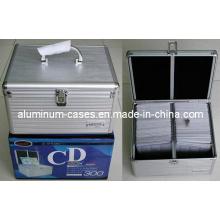 Случай компактного диска алюминия для коробки 200шт CD/ компакт-диск