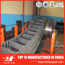 Rubber Sidewall Conveyor Belt for Incline Material Conveying