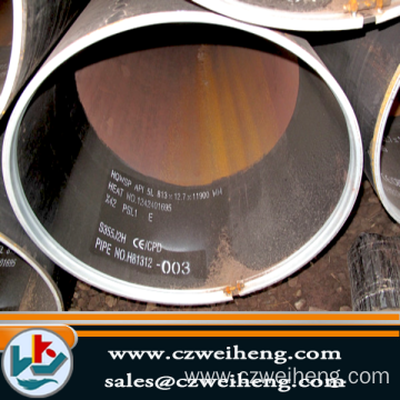 T91 s235j0 lsaw hollow low alloy welded steel pipe