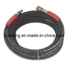 3600-5500psi Manguera de acero hidráulica de alta presión profesional para uso industrial (6SH32)