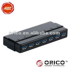 ORICO H7928-U3 USB3.0 5Gbps super speed Hub 7 ports USB Interface